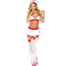 Nurse-Cosplay Uniform Costume Complete Outfit Sexy lingerie Nurse Cosplay Suit