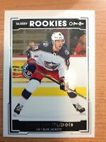 OPC 2017-2018 PIERRE-LUC DUBOIS GLOSSY ROOKIE CARD R-3 COLUMBUS BLUE JACKETS