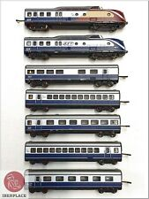 Z Spur 1:220 Märklin mini-club Lokomotive Sammlung locomotive BST TEE MHI 7x <
