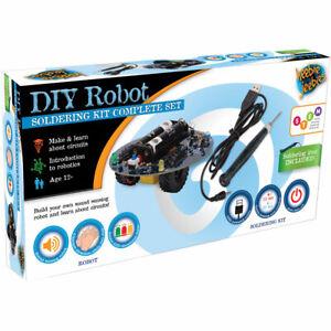 Heebie Jeebies DIY Robot Soldering Kit Complete Set