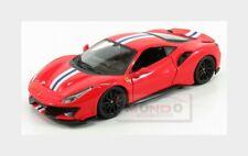 Ferrari 488 Pista 2018 Red BURAGO 1:24 BU26026R Model
