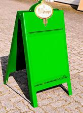 Bitburger Bier, Kundenstopper, Werbeaufsteller Kunststoff, grün