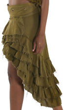 STEAMPUNK SKIRT, GYPSIE skirt, flamenco skirt, GEKKO ELF skirt, VICTORIAN SKIRT
