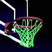 1Pc Braided Nylon Glowing Light Luminous Basketball Net Training Sport Supply PR