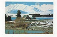 Church Of The Good Shepherd Lake Tekapo Canterbury New Zealand Postcard 477a