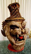 Hermit Grandfather Tiger Lersi Anchoret Mask Thai Handmade Ceremony Costume New