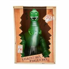"Disney Toy Story Rex Interactive Talking Action Figure 12"" NEW"