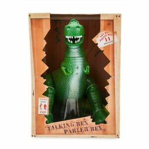 "Disney Toy Story Rex Talking Action Figure 12"" NEW FREE SHIPPING"