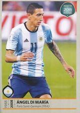 284 ANGEL DI MARIA ARGENTINA STICKER ROAD TO RUSSIA WORLD CUP 2018 PANINI