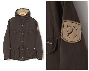 Vintage Mens FJALLRAVEN G-1000 Greenland Jacket Brown Size S