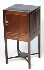 Antique Georgian Style Mahogany Bedside Cabinet c1900 - FREE P&P [PL2576]