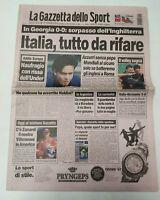 GAZZETTA DELLO SPORT 11 SETTEMBRE 1997 QUALIF. MONDIALI GEORGIA ITALIA 0-0