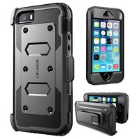 iPhone 5/5s SE Case, i-Blason [Armorbox] Protective Cover with Screen Protector