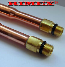 COPPER TAP TAILS FOR MONOBLOCK BASIN SINK TAPS PER PAIR
