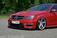 Spoilerschwert Frontspoiler Lippe Cuplippe ABS Mercedes Benz C63 AMG W204 ABE