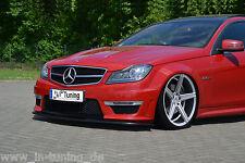 Cuplippe Spoilerschwert Frontspoiler ABS Mercedes Benz C-Klasse W204 + S204 ABE