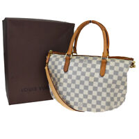 Auth LOUIS VUITTON Riviera PM 2Way Shoulder Hand Bag Damier Azur N48250 11MC715