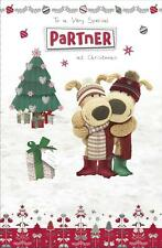 BOOFLE TO A VERY SPECIAL PARTNER CHRISTMAS CARD NEW GIFT