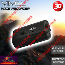 Voice Recorder Vimel Listening Device 3G GSM Audio Sound Remote No Spy Hidden