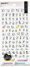Peanuts Snoopy Stickers Petit Seal Pink