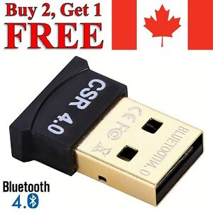 USB 4.0 Bluetooth Adapter Receiver Wireless Dongle for Windows Computer Laptop