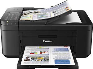 Canon PIXMA TR4520 Wireless All in One Photo Printer with Mobile Printing, Works