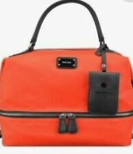 NINE WEST LARGE Neon  Orange TOTE-STYLE HANDBAG MSRP $89 A REAL BEAUTY!