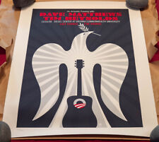 "Dave Matthews & Time Reynolds ""Last Chance for Change"" Print Numbered"