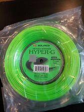Solinco Hyper-G 18 Gauge Tennis String Reel, New, Green