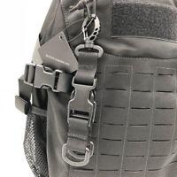 Sports Molle Strap Buckle Nylon Key Hook Webbing Hanging Belt Carabiner Clip