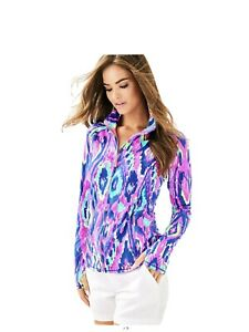 Lilly Pulitzer Serena Luxletic Activewear Jacket L NWOT HTF Retail $138