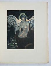 1926 Poésie Hérédia illustré Maurice de Becque 1/232 ex. La Grèce et la Sicile