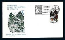 SPAIN - SPAGNA - 1976 - Centenario del Centro Escursionista di Catalogna Unifica