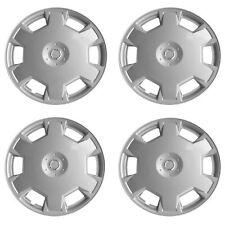 "Fits Nissan Versa 10-12 Style New 4 Pcs Silver 15"" Hub Caps Wheel Cover Set 1017"