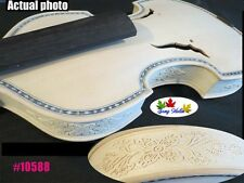 Carving rib neck SONG Brand unfinished violin 4/4, inlaid purfling  #10588