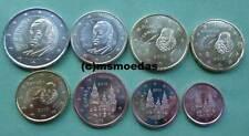 Spanien KMS 8 Euro Münzen mit 1 Cent bis 2 Euro Euromünzen coins moedas