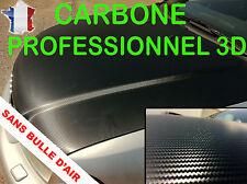Autocollant vinyle fibre de carbone relief 3D professionnel sticker tuning