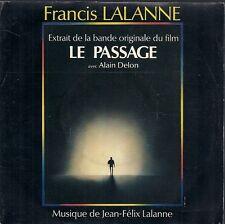 """45 TOURS 7"""" BOF / OST LE PASSAGE--FRANCIS LALANNE--ON SE RETROUVERA--1986"""