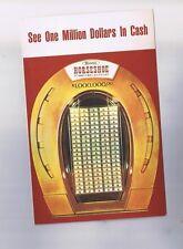 Binions Horseshoe Casino $1000.000.00 Vintage Post Card Las Vegas Nevada