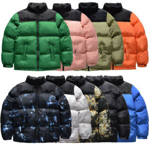 Winter Parkas Coats Casual Men's Stand Collar Pocket Warm Down Puffer Jackets