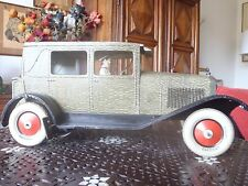 1930 JOUET ANCIEN VOITURE DELAGE GRAND LUXE 1/10° CR ROSSIGNOL EXCEPTIONNELLE