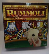 Deluxe RUMMOLI (Game BOARD and set Playing chips) 12+ years 2-8 players CR-D1/22
