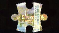 NEW Keepsake Collection 500 Piece Alpine Village Puzzle in Collectible Box