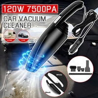 Mini 120W 12V 6000PA Car Vacuum Cleaner Corded Handheld  Portable Wet Dry