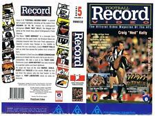 AFL: FOOTBALL RECORD VIDEO: ISSUE 5, {1994}  *RARE VHS TAPE*  AFL