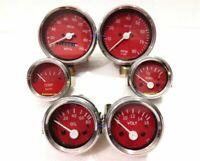 Smiths Replica Kit- CH Elec Temp + Oil + Fuel + volt +Speedometer +Tacho 85mm ME