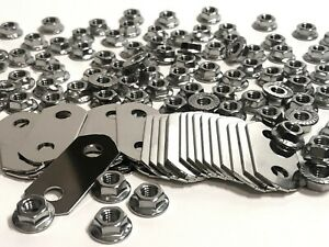 Nickel Plated BUS BARS & Stainless NUTS for Lexus, Chevy, GMC, & Cadillac