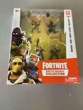 Fortnite Battle Royale Collection Squad 4 Pack Raptor Rust Lord Rex Raven Epic