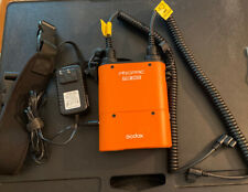 Godox Pb960 Propac - Orange w/Ac charger both cables & carry strap