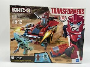 Kre-o Transformers Sideswipe Roadway Rundown Building Blocks ~ 98 Pieces New
